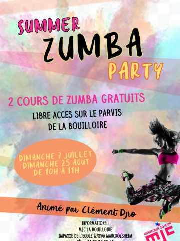 Affiche du film Summer Zumba Party